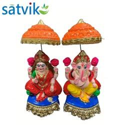 Pair of Goddess Lakshmi and...