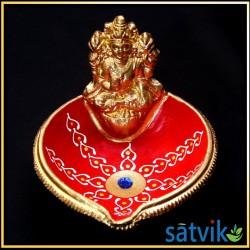 Satvik Colorful Clay Diya...