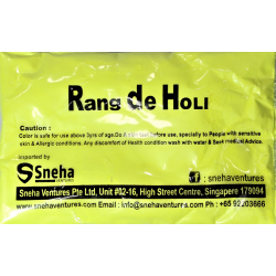 Satvik Rang De Holi Yellow...